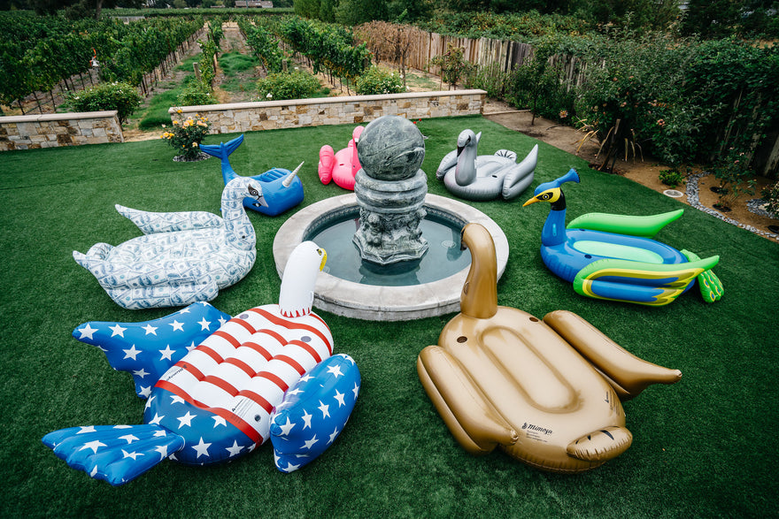 Basic Rules Of Beautifully Arranging Giant Inflatable Pool Floats