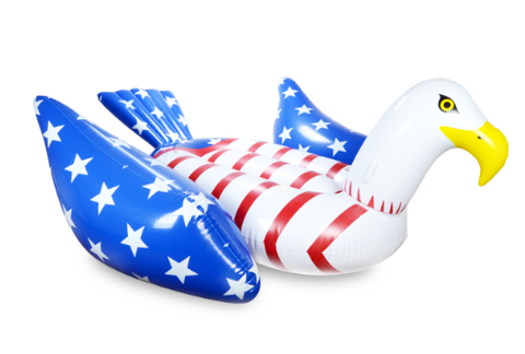 Bald Eagle American Pool Float