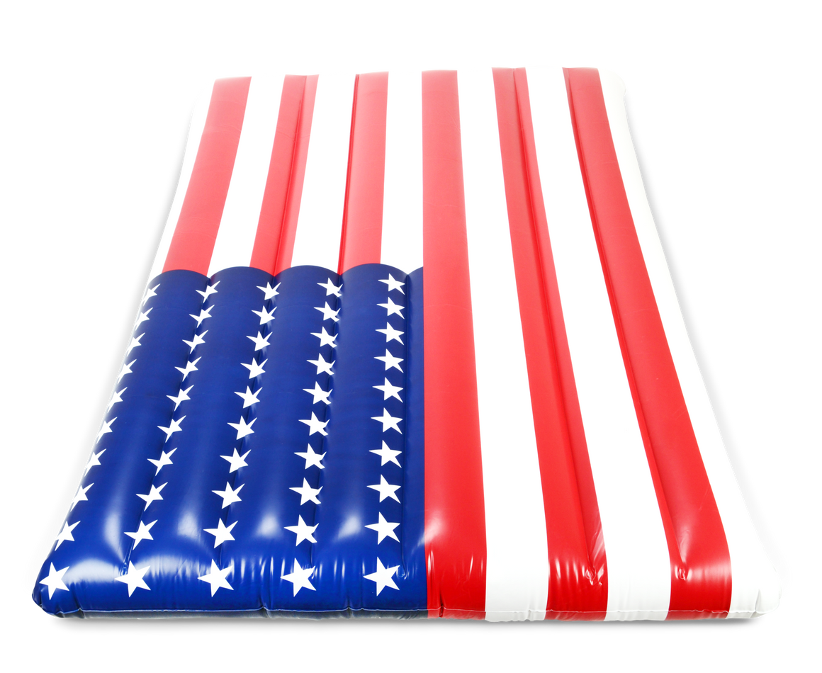 Giant American Flag Inflatable Pool Float