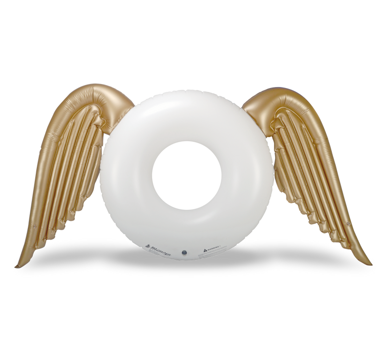 Angel Wings Round Pool Float by Mimosa Inc