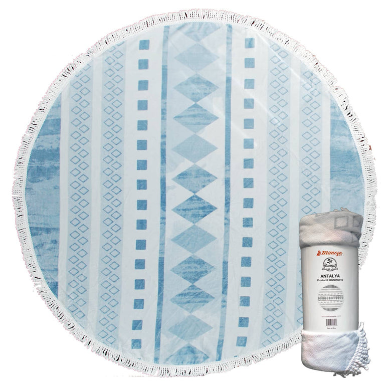 Round Beach Towel - Antalya