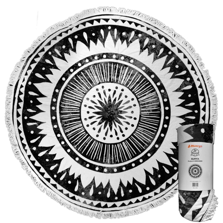 Round Beach Towel - Surya