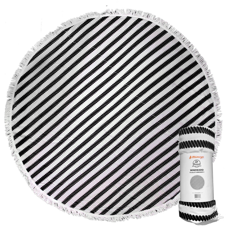 Round Beach Towel - Windward