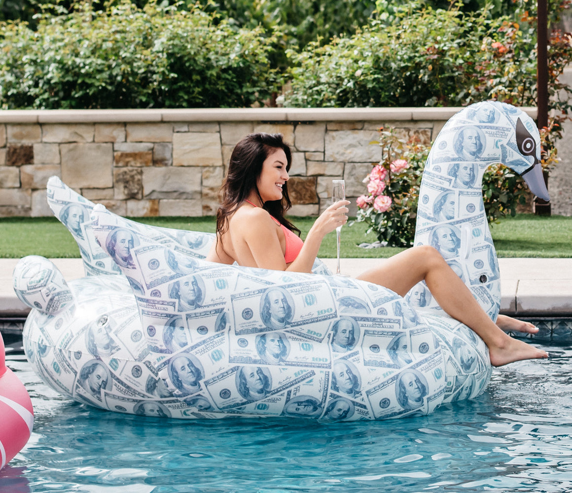 Money Swan Pool Float