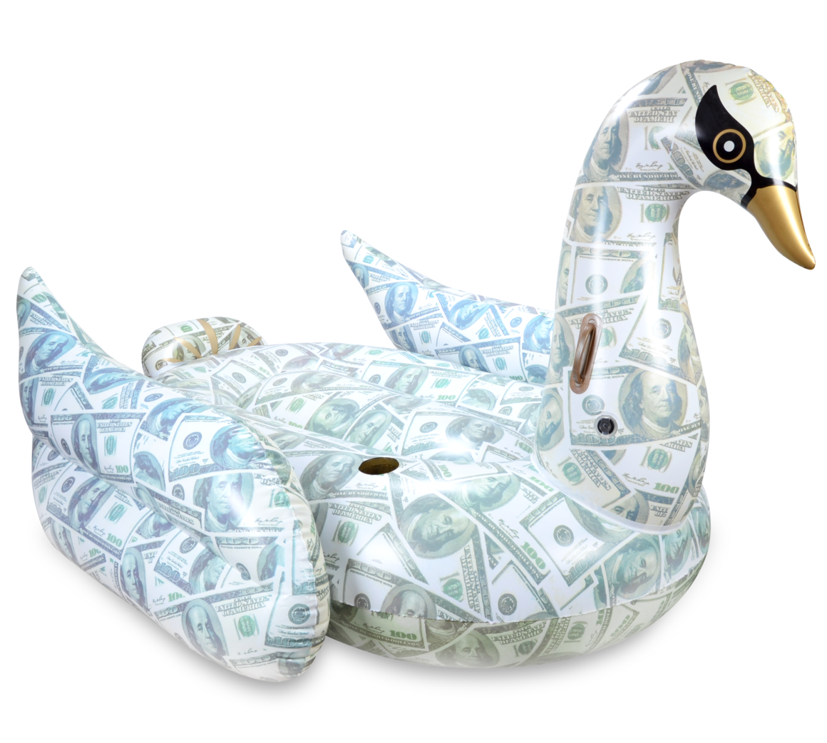 Billionaire Swan Pool Float by Mimosa Inc