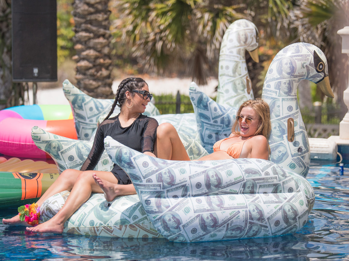 Billionaire Swan Pool Float