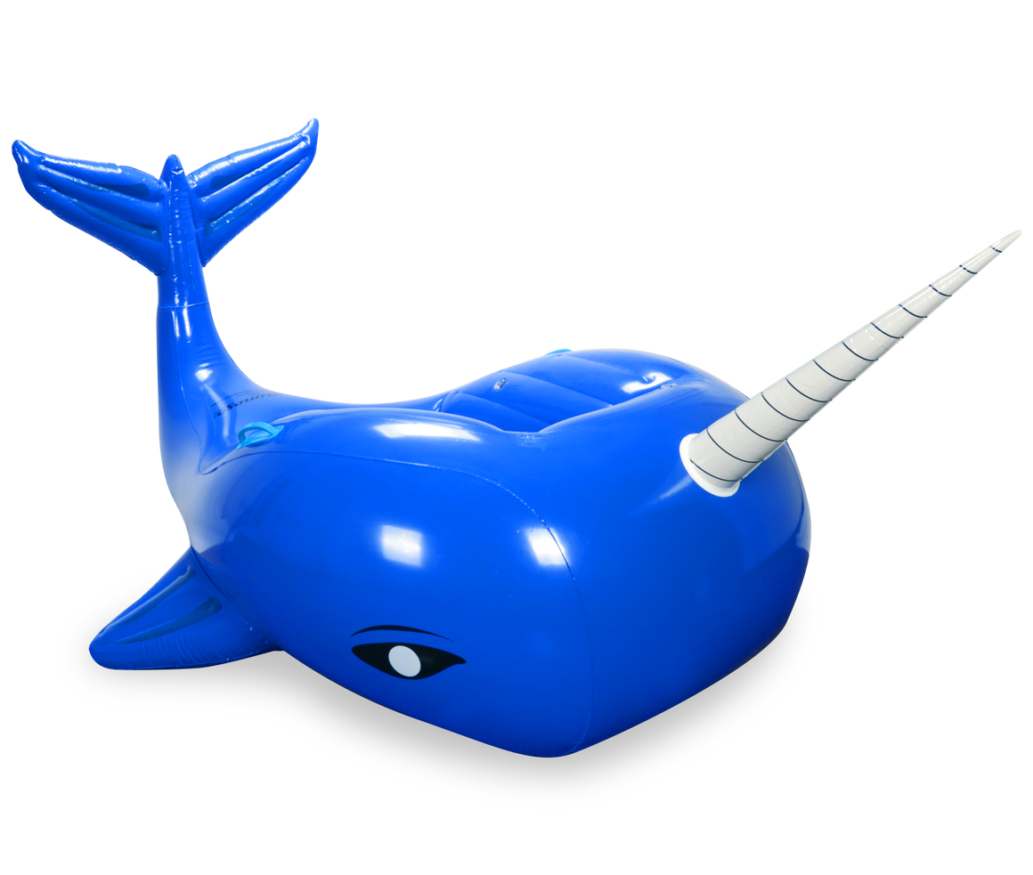 Narwhal whale pool float by mimosa inc