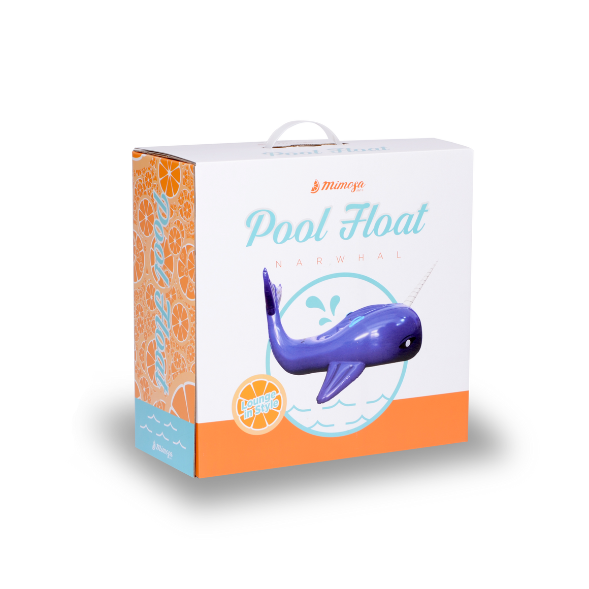 Narwhal Whale Pool Float
