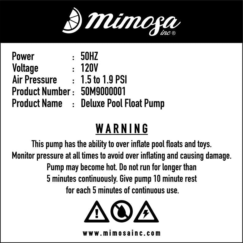 Best Pool Float Pump for Swans and Flamingos by Mimosa Inc