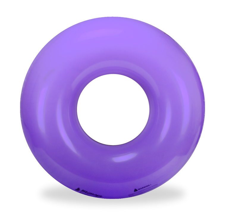 Neon Purple Round Pool Float by Mimosa Inc