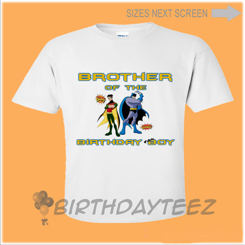 Batman Matching Brother Shirt-www.bybirthdayteez.com
