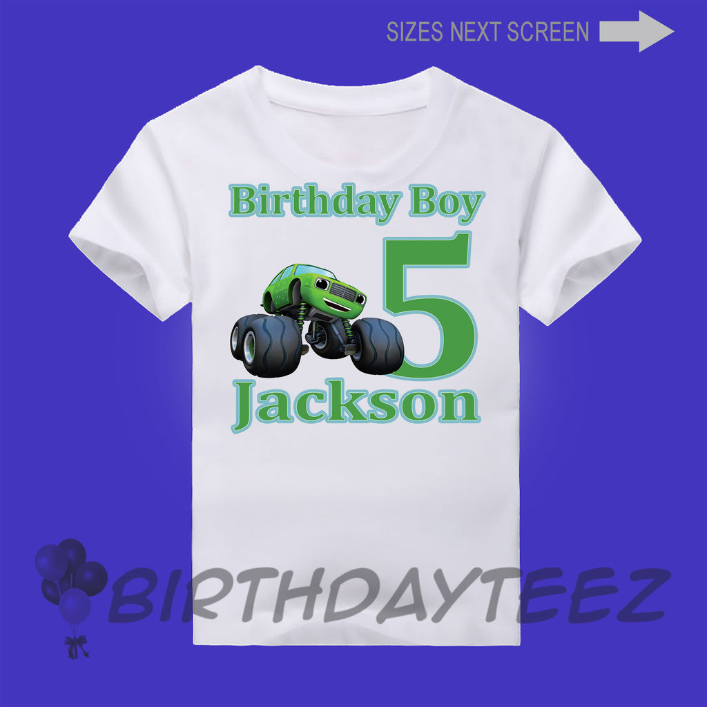 Boy's Pickels from Blaze Birthday Shirt-www.bybirthdayteez.com