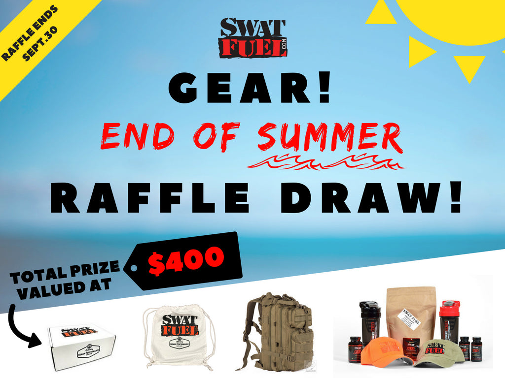 SWAT Fuel End of Summer Raffle Draw 2018 - Win $400 worth of goodies!