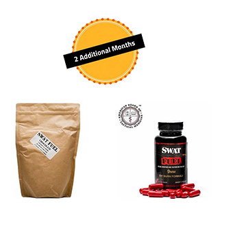SWAT Fuel Bundle (CF) 2 Month Supply - 2 Fat Burn Formula and 2 44 Magnum Recovery Protein