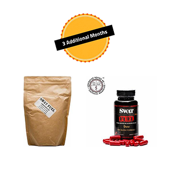 SWAT Fuel Bundle (CF) 3 Month Supply - 3 Fat Burn Formula and 3 44 Magnum Recovery Protein