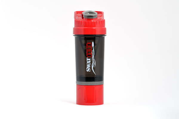 SWAT Fuel Shaker Bottle with Cyclone Cup Technology - RED or BLACK