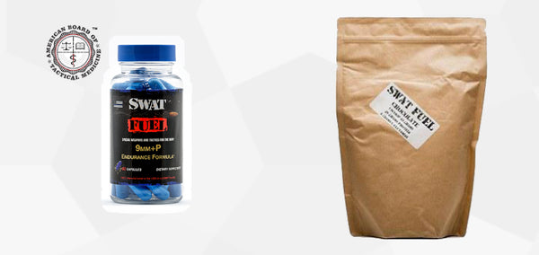 SWAT Fuel Bundle (CF) 2 Month Supply - 2 +P Endurance Formula and 2 44 Magnum Recovery Protein