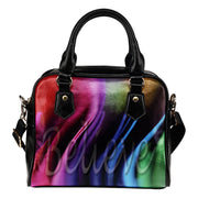 BELIEVE mulitcolors shoulder handbag
