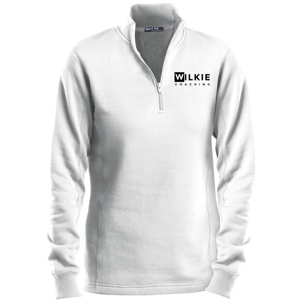 wilkie  LST253 Ladies' 1/4 Zip Sweatshirt