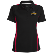 I am amazing!Ladies' Custom Colorblock Three Button Polo