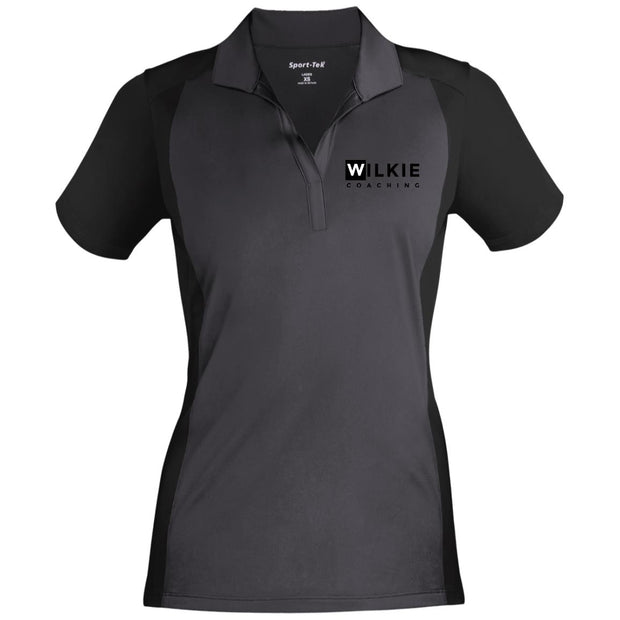wilkie  LST652 Ladies' Colorblock Sport-Wick Polo