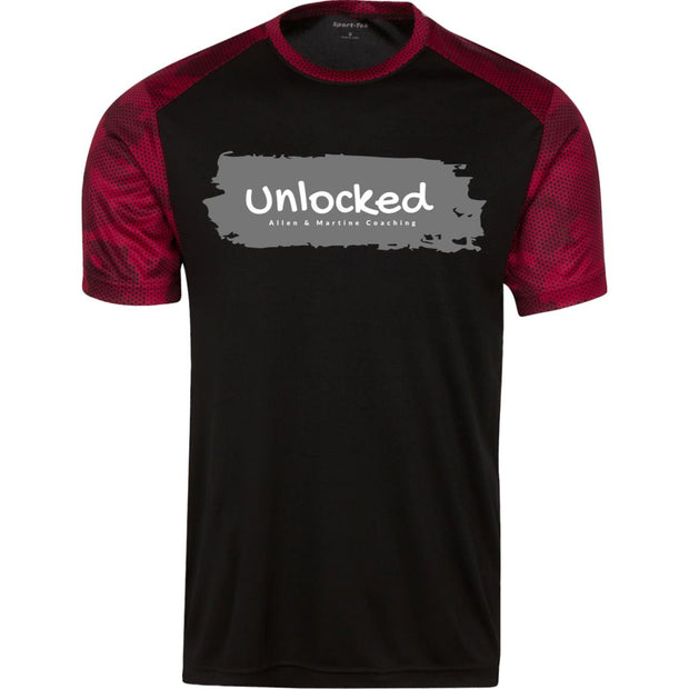 unlocked ST371 CamoHex Colorblock T-Shirt