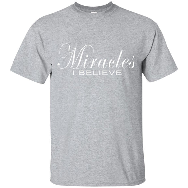 Miracles, I believe! G200 Gildan Ultra Cotton T-Shirt (FREE SHIPPING)