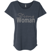 strong woman!NL6760 Next Level Ladies' Triblend Dolman Sleeve