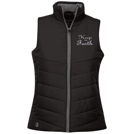 Keep the faith! 229314 Holloway Ladies' Quilted Vest