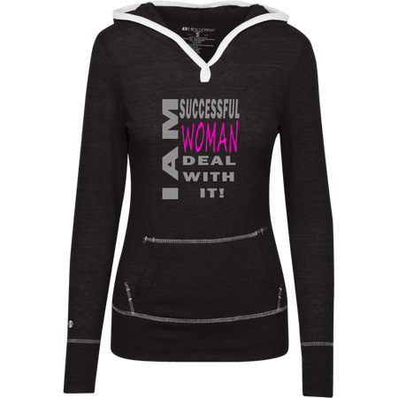 Successful woman! Junior Lightweight T-Shirt Hoodie