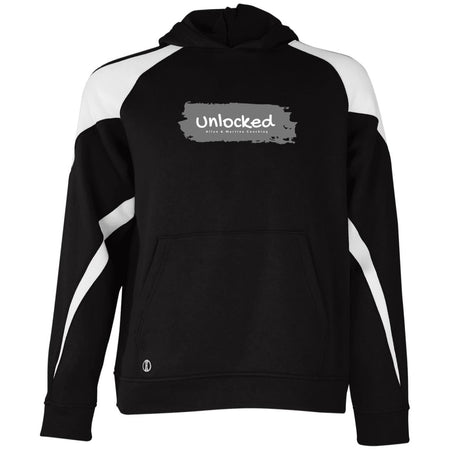 unlocked 229646 Holloway Youth Colorblock Hoodie