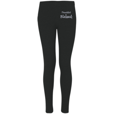 Thankful and blessed! S08 Boxercraft Women's Leggings