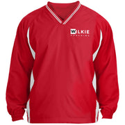WILKIE JST62 Tipped V-Neck Windshirt