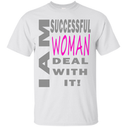 Successful woman! Custom Ultra Cotton T-Shirt