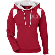 TT30W Ladies' Colorblock Poly Hoodie