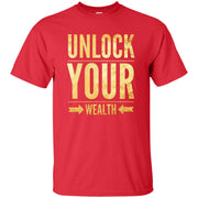 unlock your wealth G200T Tall Ultra Cotton T-Shirt free shipping