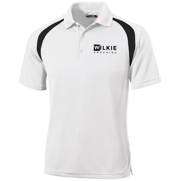 wilkie T476 Moisture-Wicking Tag-Free Golf Shirt