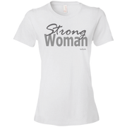 strong woman! 880 Anvil Ladies' Lightweight T-Shirt 4.5 oz