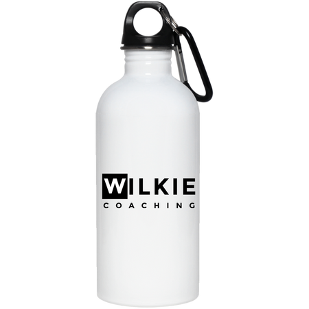 wilkie 23663 20 oz. Stainless Steel Water Bottle