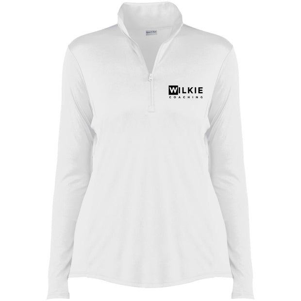 wilkie  LST357 Ladies' Competitor 1/4-Zip Pullover