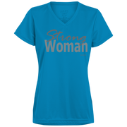 strong woman! 1790 Augusta Ladies' Wicking T-Shirt