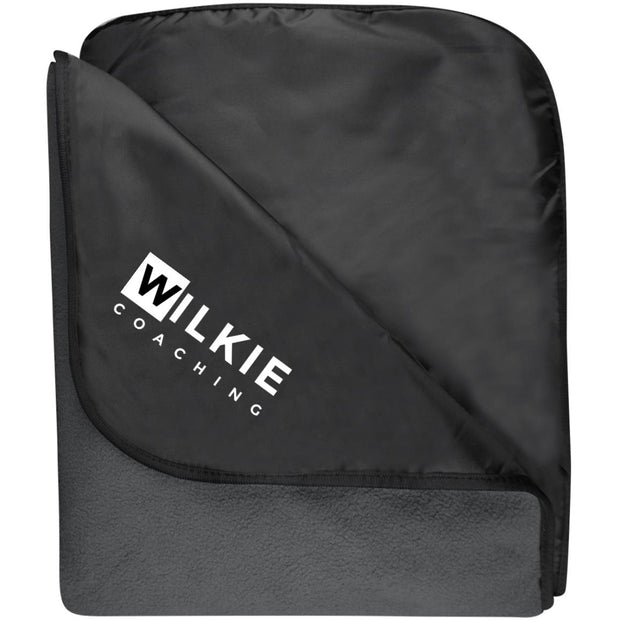 Wilkie TB850 Fleece & Poly Travel Blanket