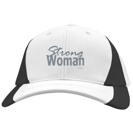 Do you know a strong woman?STC11 Sport-Tek Mid-Profile Colorblock Hat