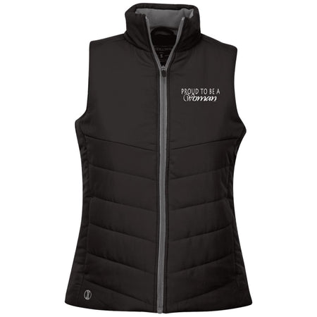 Proud to be a woman!  229314 Holloway Ladies' Quilted Vest