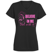 I BELIEVE IN ME! 1790 Augusta Ladies' Wicking T-Shirt