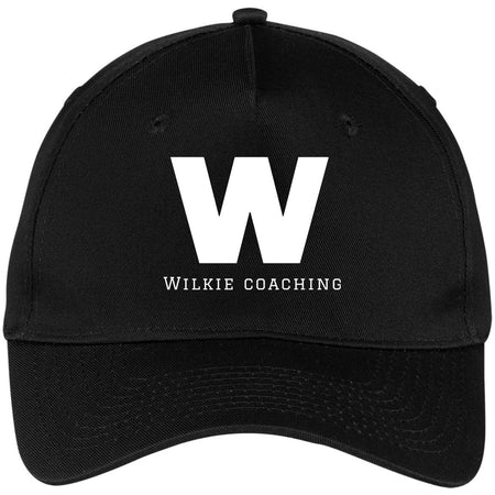 wilkie coaching CP86 Five Panel Twill Cap