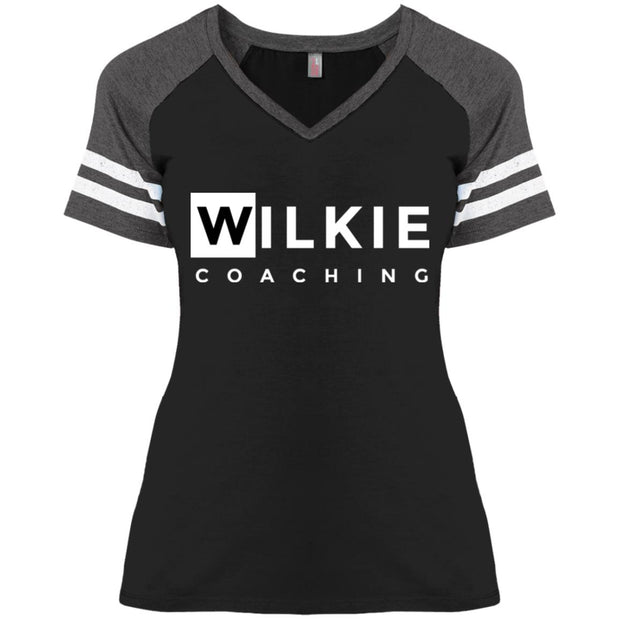 Wilkie DM476 Ladies' Game V-Neck T-Shirt