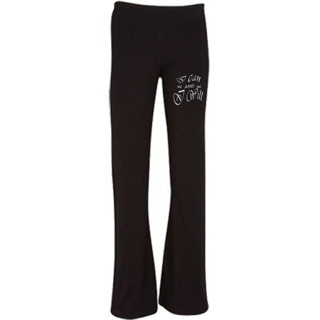 I can and I will ! Soffe® Junior Fit Customized pant