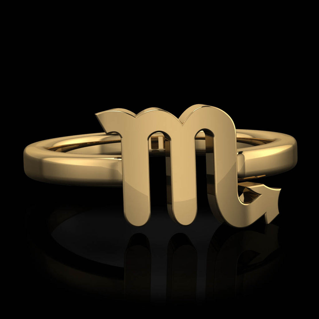 Zodiac Ring - Scorpio - Twisted Love NYC