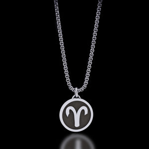 Zodiac - Aries Necklace - Twisted Love NYC